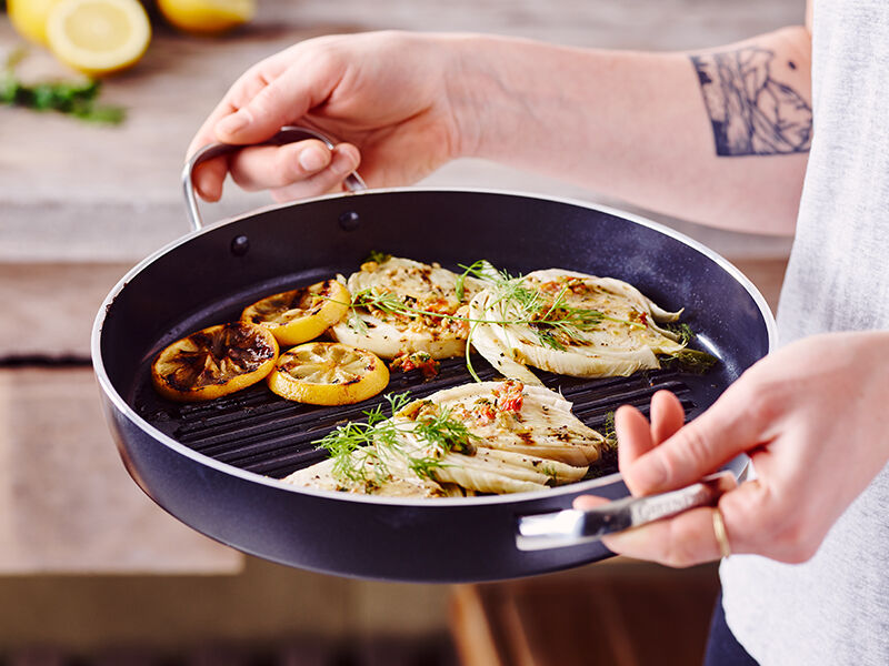 Grilled Fennel with Mustard
