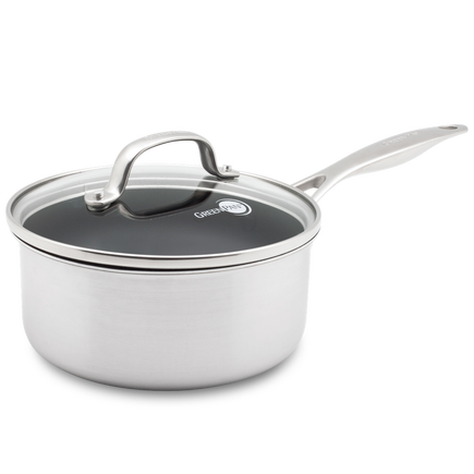 Elements Ceramic Non-Stick Saucepan with lid