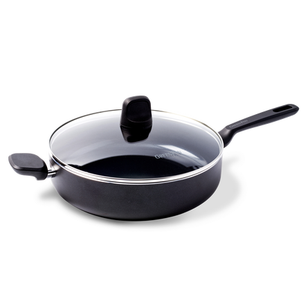 Memphis Ceramic Non-Stick Sauté Pan with Lid