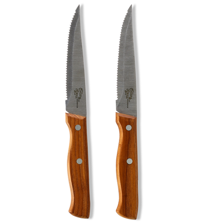 Chop & Grill Steak Knives 2pc Set