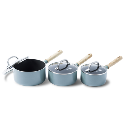 Mayflower Ceramic Non-Stick 6pc Saucepan Set