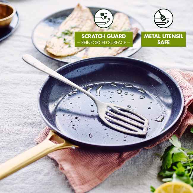 Reserve Padova Ceramic Non-Stick 2pc Frying Pan Set