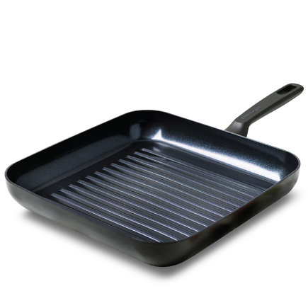 Memphis Ceramic Non-Stick Induction Square Grill Pan