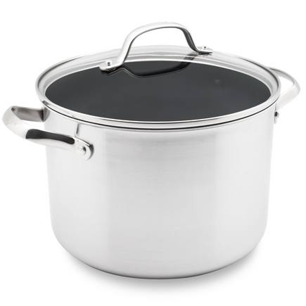 Elements Ceramic Non-Stick Stockpot with lid