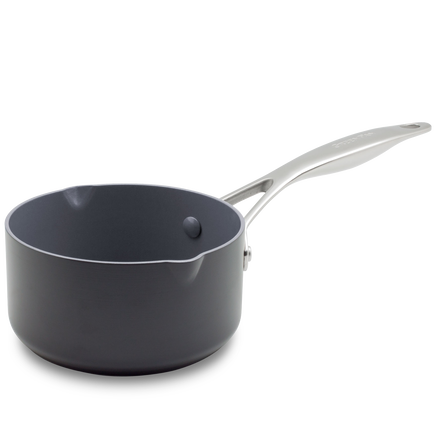 Venice Pro Ceramic Non-Stick Milkpan with 2 Spouts