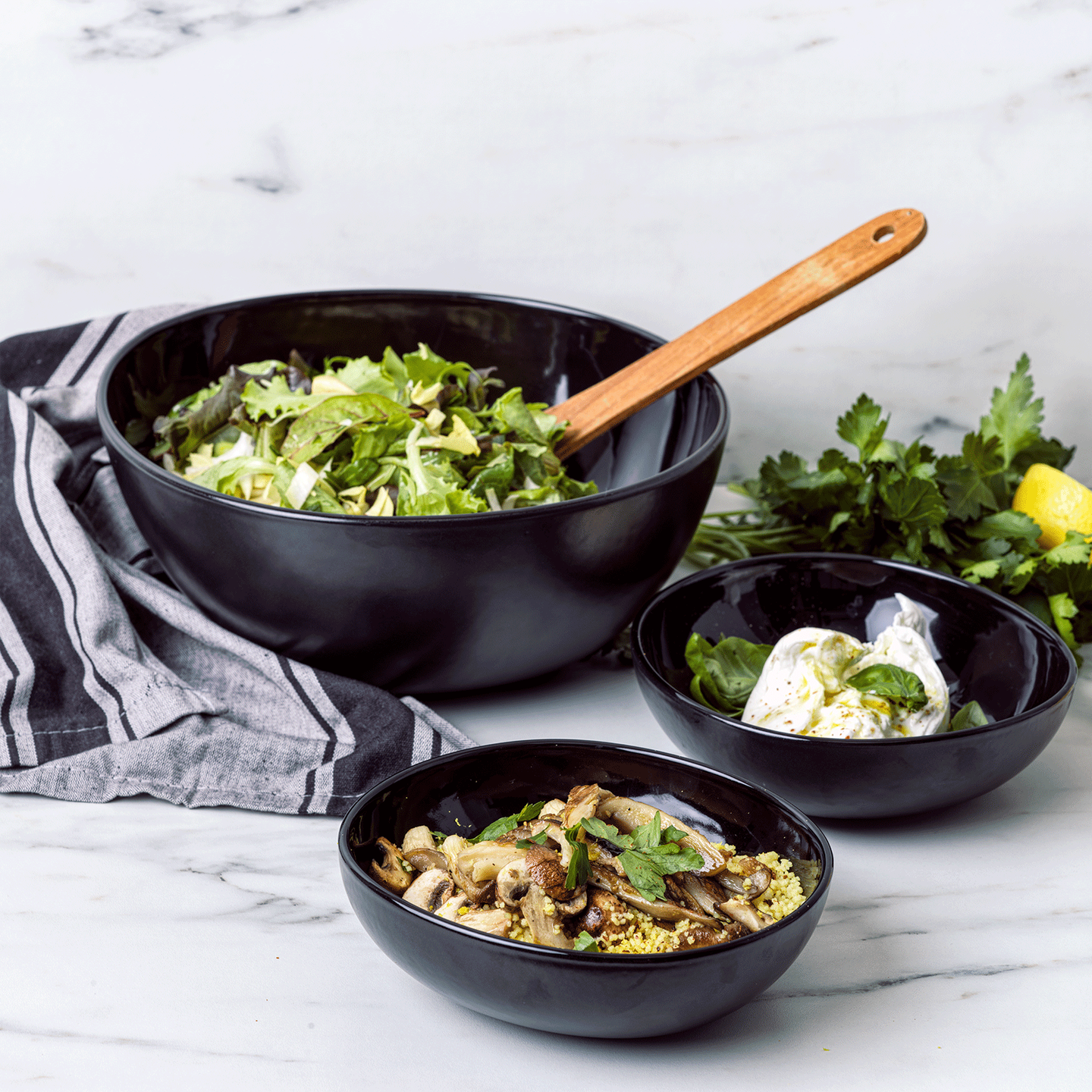 Chop & Grill Serving Bowl Small 2pc Set