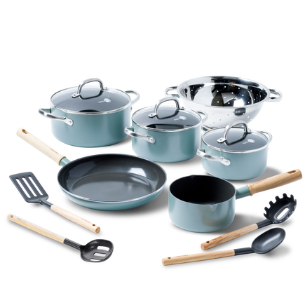 Mayflower Ceramic Non-Stick 13pc Set with lids