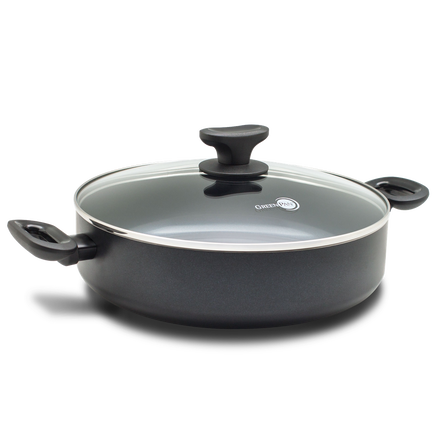 Torino Ceramic Non-Stick Sauté Pan with Lid