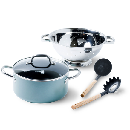 Mayflower Ceramic Non-Stick 5pc steamer set