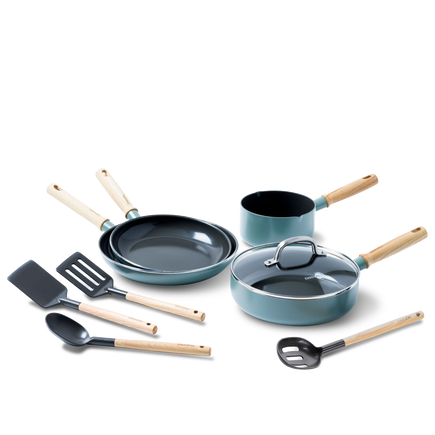 Mayflower Ceramic Non-Stick 9pc Set