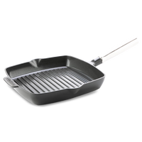 Featherweights Ceramic Non-Stick Square Grill Pan