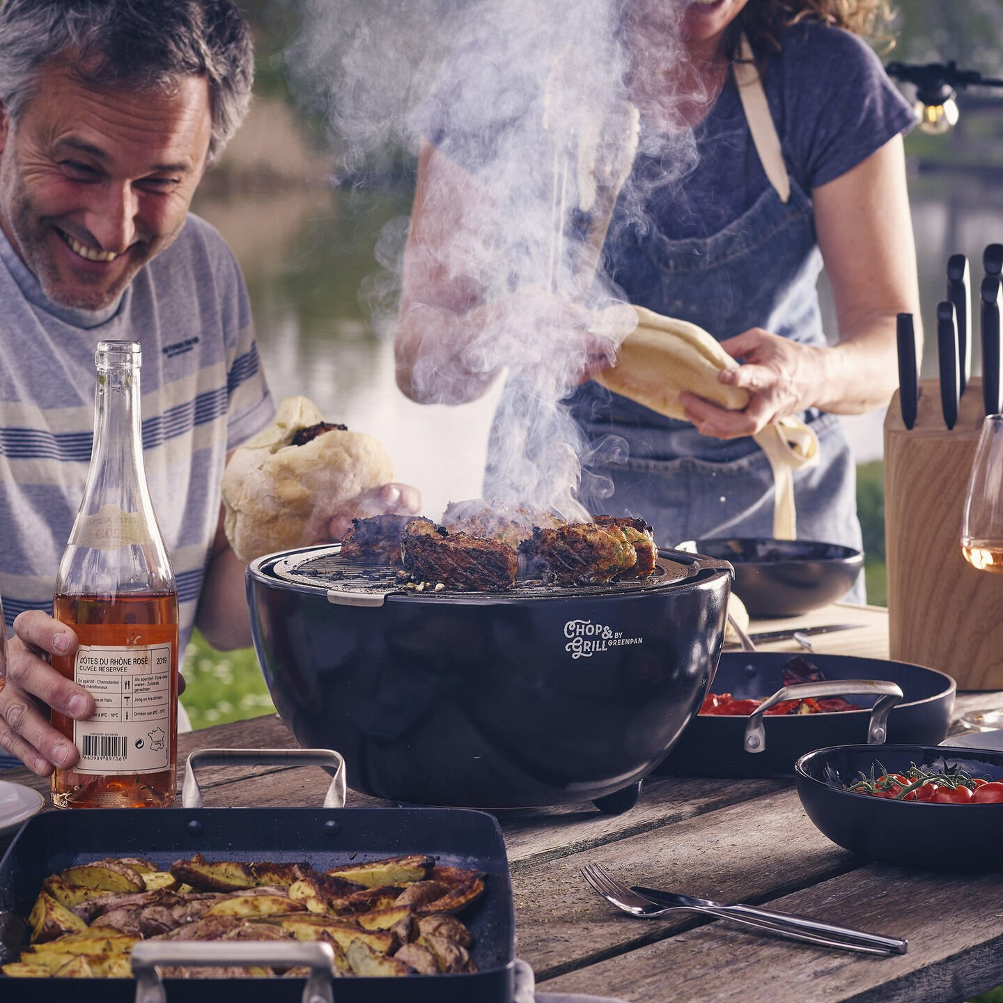 Chop & Grill Tabletop Barbecue