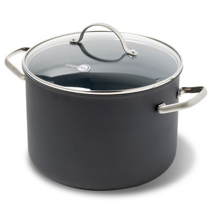 Venice Ceramic Non-Stick Stockpot with lid