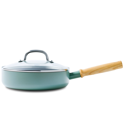 Mayflower Ceramic Non-Stick Sauté Pan with Lid