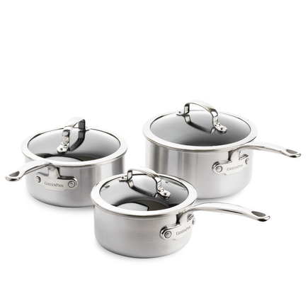 Premiere Saucepan 6pc Set